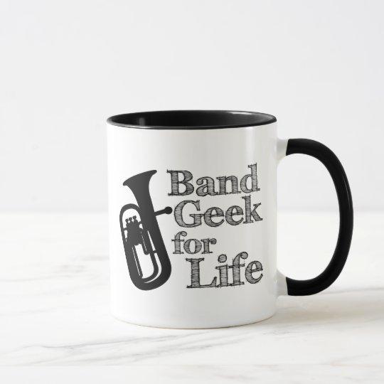 Baritone Band Geek Mug