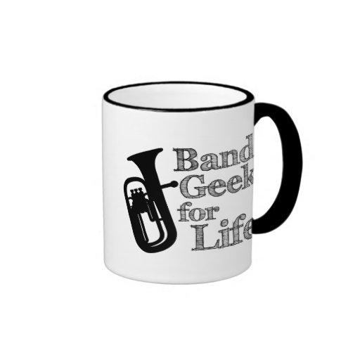 Baritone Band Geek Ringer Coffee Mug