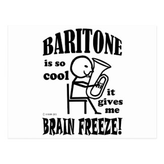 Baritone, Brain Freeze Postcard
