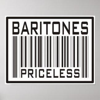 Baritones Priceless Posters