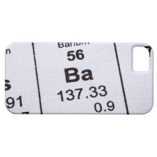 Barium molecular formula case for the iPhone 5