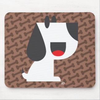 Bark Bark (Brown) -Mousepad Mouse Mat