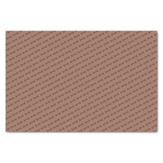 Bark Bark (Brown) - Tissue Paper