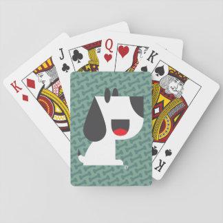 Bark Bark (Green) - Playing Cards