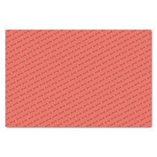 Bark Bark (Red) - Tissue Paper
