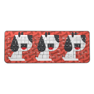 Bark Bark (Red) - Wireless Keyboard
