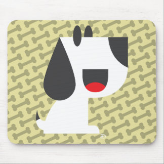 Bark Bark (Yellow) -Mousepad Mouse Mat