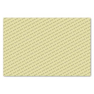 Bark Bark (Yellow) - Tissue Paper