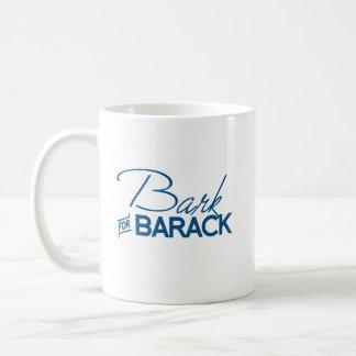 BARK FOR BARACK.png Basic White Mug