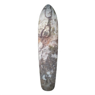 Bark on a tree custom skate board