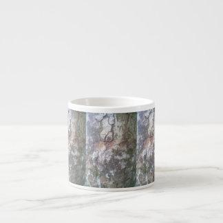 Bark on a tree espresso mugs