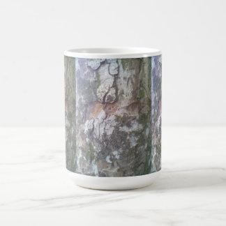Bark on a tree mug