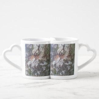 Bark on a tree lovers mug set