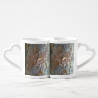 Bark on tree lovers mug sets