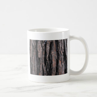 Bark Pattern Basic White Mug