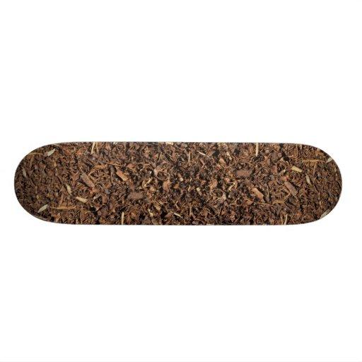 Bark trimmings skateboards