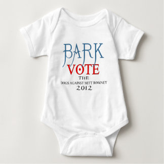 Bark Vote The Dogs Against Mitt Romney 2012.png Tshirts