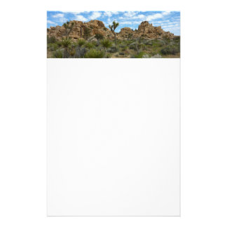Barker Dam Loop Trail at Joshua Tree National Park Custom Stationery