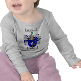 BARKER FAMILY CREST -  BARKER COAT OF ARMS TSHIRTS