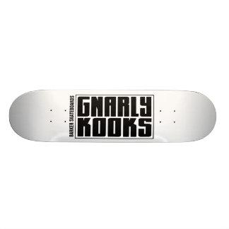 BARKER Skateboards (GNARLY KOOKS) Design