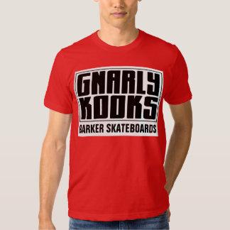 BARKER SKATEBOARDS (GNARLY KOOKS) T-Shirt