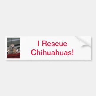 Barking Chihuahua Bumper Sticker