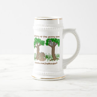 barking coffee mug
