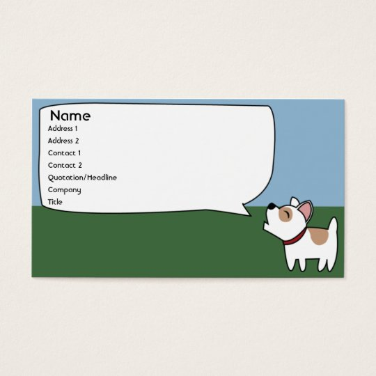 Barking Dog - Business Business Card