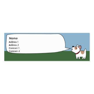 Barking Dog - Skinny Business Card Template