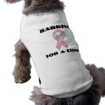 Barking For A Cure Pet Tee