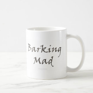 Barking Mad Basic White Mug