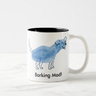 Barking Mad! Two-Tone Coffee Mug