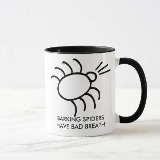 barking spider, BARKING SPIDERS HAVE BAD BREATH Mug