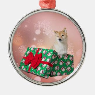 Barkley Present - Premium Round Ornament
