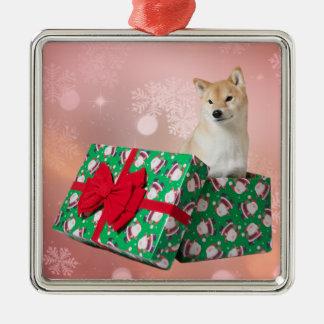 Barkley Present - Premium Square Ornament