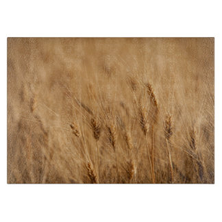 Barley field cutting board