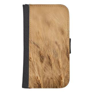 Barley field samsung s4 wallet case