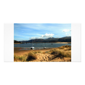 Barmouth North Wales Custom Photo Card
