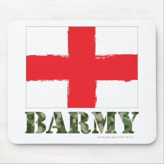 Barmy England Cricket Mouse Mat