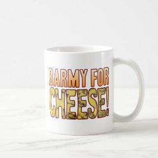 Barmy For Blue Cheese Basic White Mug