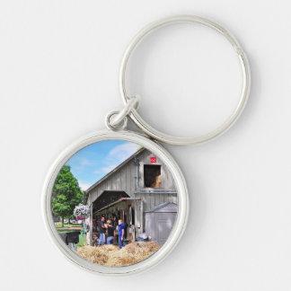 Barn #62 at Horse Haven - Saratoga Keychains