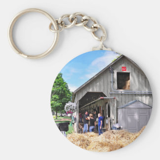 Barn #62 at Horse Haven - Saratoga Keychain