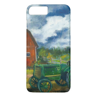 Barn and old tractor iPhone 7 plus case