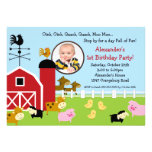 Barn Animal Fun Photo Birthday Party