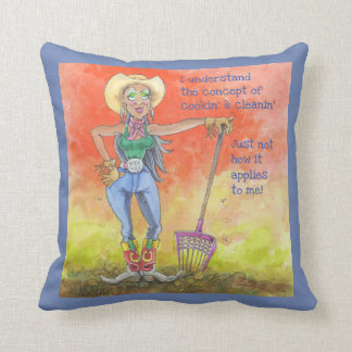 Barn Chick Pillow