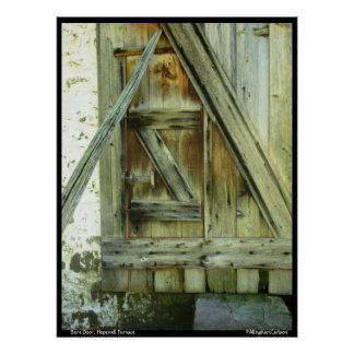 Barn Door Hopewell Furnace Print