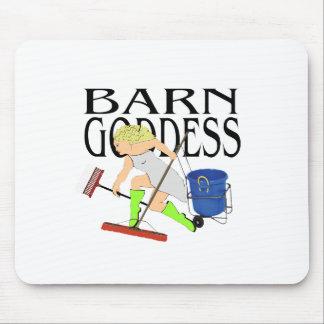 Barn Goddess Mouse Pad