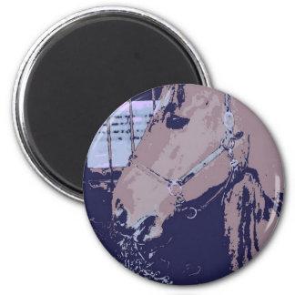 Barn Horse Pop Art Refrigerator Magnet