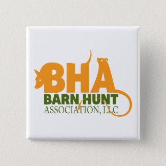 Barn Hunt Association LLC Logo Gear 15 Cm Square Badge