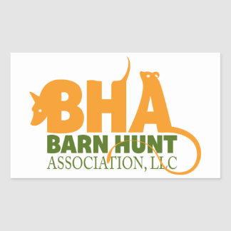 Barn Hunt Association LLC Logo Gear Rectangular Sticker